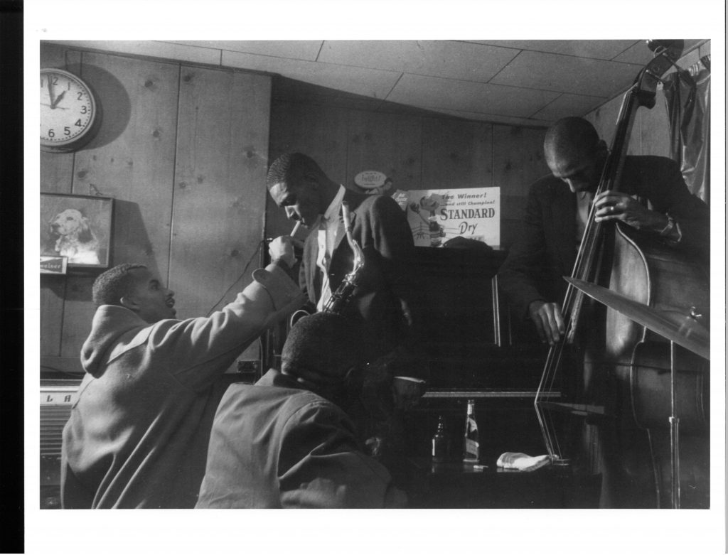After Hours at the Pythodd, Ron Carter, Pee Wee Ellis performing