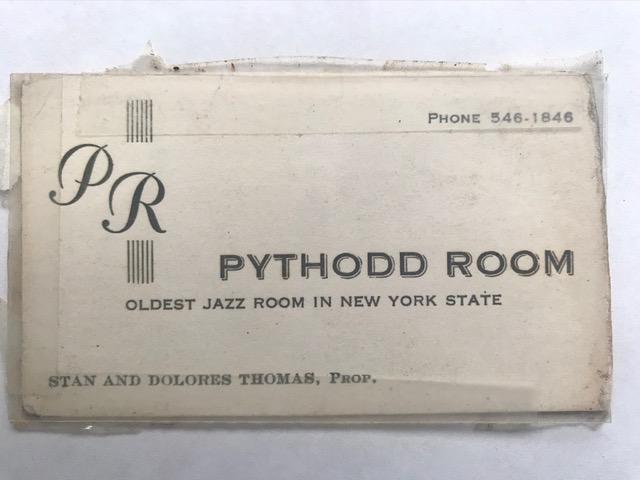 Pythodd Room Matchbook