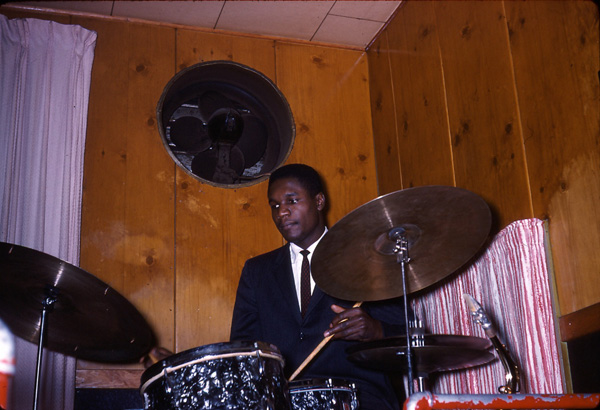 Clarence Becton, Probably May 1961 at the Pythodd Club, Rochester, NY