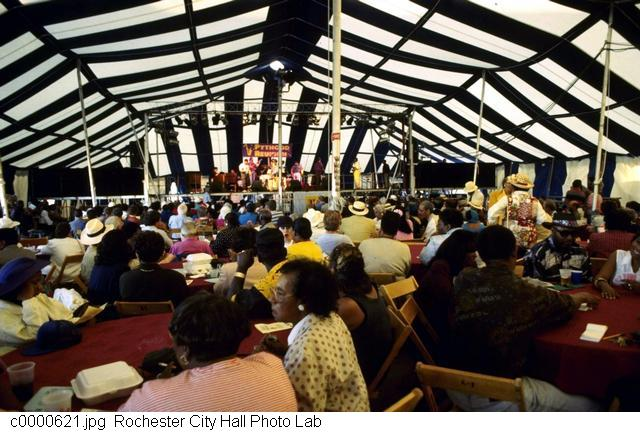 Jazz in the Festival Tent